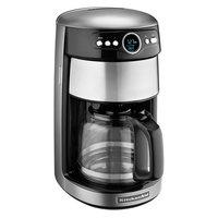 KitchenAid KCM1402CU Contour Silver 14 Cup Automatic Coffee Maker - 120V