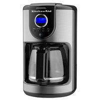KitchenAid KCM111OB Onyx Black 12 Cup Automatic Coffee Maker - 120V