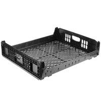 Orbis NPL650 27 inch x 22 inch x 6 inch Black Bakery Bread Tray / Bread Rack