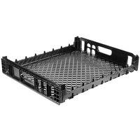 Orbis NPL630B 26 inch x 22 inch x 4 inch Black Double Bun Bakery Tray / Bread Rack