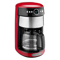 KitchenAid KCM1402ER Empire Red 14 Cup Automatic Coffee Maker - 120V