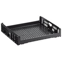 Orbis NPL660 29 inch x 26 inch x 6 inch Customizable Black Bakery Bread Tray / Bread Rack