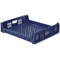 Orbis NPL640 26 inch x 22 inch x 6 inch Blue Bakery Bread Tray / Bread Rack