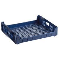 Orbis NPL640 26 inch x 22 inch x 6 inch Customizable Blue Bakery Bread Tray / Bread Rack