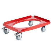Cambro CD3253EPP158 Cam GoBox® Hot Red Camdolly®