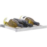 Channel 7502-3 Aluminum 6 Bottle 2 Deep Wine Storage Shelf