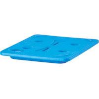 Cambro CP2632443 Cam GoBox® Half Size Glacier Blue Camchiller®