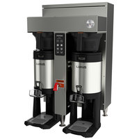 Fetco CBS-1152V+ E115252 Extractor V+ Series Stainless Steel Twin Automatic Coffee Brewer - 208-240V