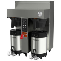 Fetco CBS-1132V+ E113252 Extractor V+ Series Stainless Steel Twin Automatic Coffee Brewer - 240V