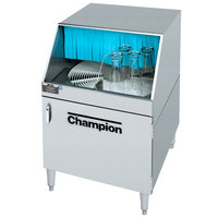 Champion CG Low Temperature Rotary Glass Washer - 208/230V