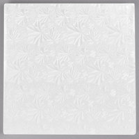 Enjay 1/2-10SW12 10 inch Fold-Under 1/2 inch Thick White Square Cake Drum