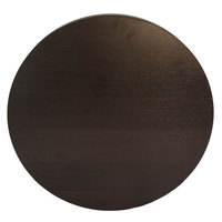 BFM Seating EST36R Midtown 36 inch Round Tabletop - Espresso
