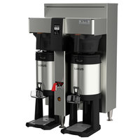 Fetco CBS-2152XTS E215251 XTS Series Stainless Steel Double Automatic Coffee Brewer - 208-240V, 4600-9100W, 1 or 3 Phase