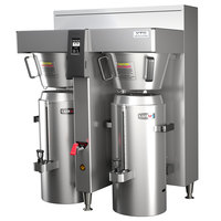 Fetco CBS-2162XTS E216254 XTS Series Stainless Steel Double Automatic Coffee Brewer - 240V, 16,800-24,100W