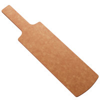 American Metalcraft MPG2 12 1/2 inch x 4 3/8 inch Natural Pressed Wood Serving Peel