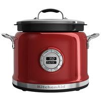 KitchenAid KMC4241CA Candy Apple Red 4 Qt. Multi-Cooker - 120V, 700W