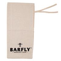 Mercer Culinary M37048 Barfly 17 3/4 inch x 8 1/4 inch Lewis Canvas Ice Bag