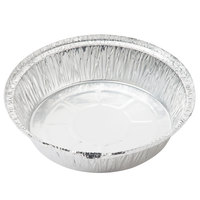 7 inch Round Foil Take-Out Pan with Board Lid - 200/Case