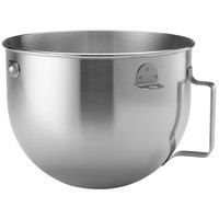 KitchenAid KN25PBH 5 Qt. Brushed Stainless Steel Mixing Bowl with Handle
