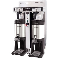 Fetco CBS-52H-15 C52016 Stainless Steel Twin Automatic Coffee Brewer - 120/208-240V