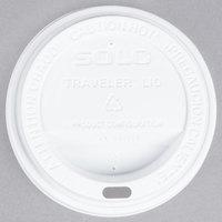 Dart Solo TL31R2-0007 10 oz. White Plastic Travel Lid - 100/Pack