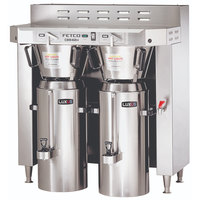 Fetco CBS-62H C62026 Stainless Steel Twin Automatic Coffee Brewer - 120/208-240V