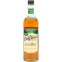 DaVinci Gourmet 700 mL Madagascar Vanilla All Natural Coffee Flavoring Syrup