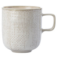 Oneida L6800000560 Knit 9 oz. Porcelain Mug - 36/Case