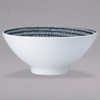 Oneida L6350000785 Urban Storm 57 oz. Porcelain Pedestal Bowl - 12/Case