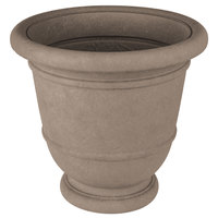 Grosfillex US225148 Kylemore 20 inch Pietra Resin Planter