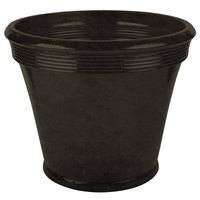 Grosfillex US686116 Georgetown 22 inch Rust Resin Planter