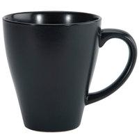 Oneida L6250000560 Urban 13.5 oz. Black Porcelain Mug - 36/Case