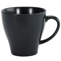 Oneida L6250000520 Urban 8.25 oz. Black Porcelain Coffee Cup - 48/Case