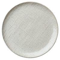 Oneida L6800000152C Knit 10 1/4 inch Porcelain Coupe Plate - 24/Case