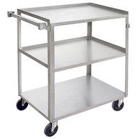 Channel US1827-3 Three Shelf Utility Cart - 30 3/4 inch x 18 inch x 34 inch