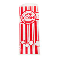 Carnival King 4 3/4 inch x 1 inch x 12 inch 2 oz. Popcorn Bag - 2000/Case