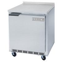 Beverage Air WTF27A 27 inch Single Door Compact Worktop Freezer - 7.3 cu. ft.