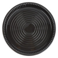 WNA Comet ADEEP516BL CaterLine Casuals 16 inch Black Deep Tray / Platter - 25/Case
