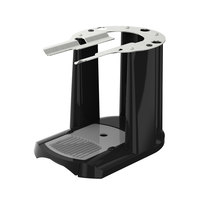 Fetco A150 Single Black and Stainless Steel Satellite Coffee Server Stand