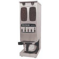 Fetco GR2.2 G02012 Dual Hopper 10 lb. 4-Batch Coffee Grinder - 120V