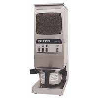 Fetco GR1.3 G01013 Single Hopper 15 lb. 3-Batch Coffee Grinder - 120V