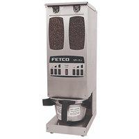 Fetco GR2.3 G02013 Dual Hopper 10 lb. 6-Batch Coffee Grinder - 120V