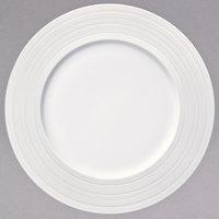 Oneida L5650000152 Manhattan 10 5/8 inch Round Warm White Porcelain Plate - 24/Case