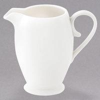 Oneida L5600000802 Current 6.75 oz. Warm White Porcelain Creamer - 48/Case