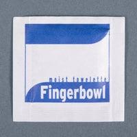 Royal Paper RF1MB Lemon Scented Moist Towelette / Wet Nap - 1000/Case