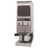 Fetco GR1.2 G01012 Single Hopper 15 lb. 2-Batch Coffee Grinder - 120V