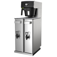 Fetco TBS-2121XTS T212111 Twin 3.5 Gallon Iced Tea Brewer with Sweetener Delivery System - 120V