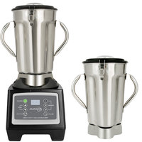 Avamix BX1GSST2J 3 3/4 hp 1 Gallon Stainless Steel High Volume Commercial Food Blender with Timer and Two Jars - 120V