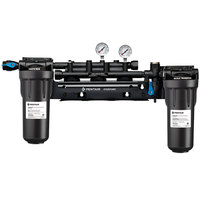 Everpure EV9294-03 High Flow CSR Triple Manifold with 10 inch Prefilter and Scale Reduction - 3/4 inch NPT