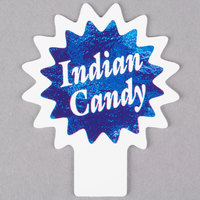 Deli Tag Topper - INDIAN CANDY - Ocean Blue